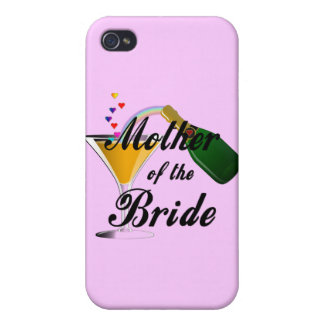 Mother Of The Bride Champagne Toast iPhone 4 Case