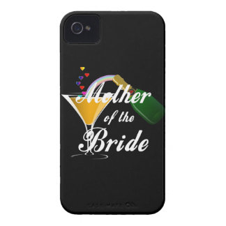 Mother Of The Bride Champagne Toast iPhone 4 Case-Mate Case