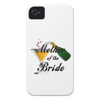 Mother Of The Bride Champagne Toast iPhone 4 Case-Mate Cases
