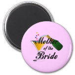 Mother Of The Bride Champagne Toast Magnets