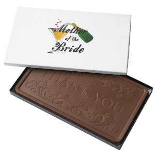 Mother Of The Bride Champagne Toast Milk Chocolate Bar