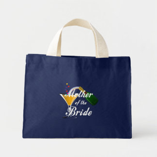 Mother Of The Bride Champagne Toast Mini Tote Bag