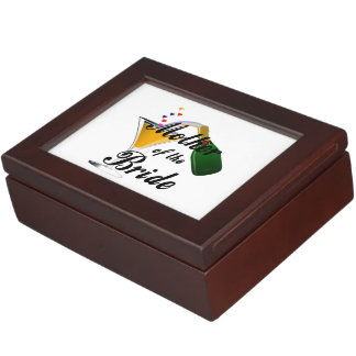 Mother Of The Bride Champagne Toast Memory Boxes