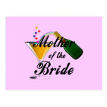 Mother Of The Bride Champagne Toast Post Cards