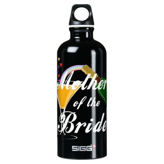 Mother Of The Bride Champagne Toast Water Bottle