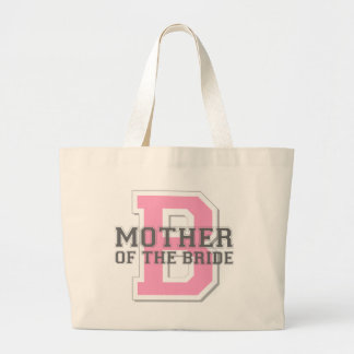 Mother of the Bride Cheer Large Tote Bag