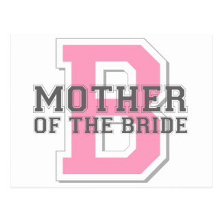 Mother of the Bride Cheer Postcard