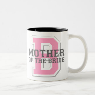 Mother of the Bride Cheer Two-Tone Coffee Mug