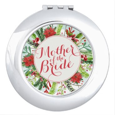Bride Themed Mother of the Bride Christmas Wedding Mirror