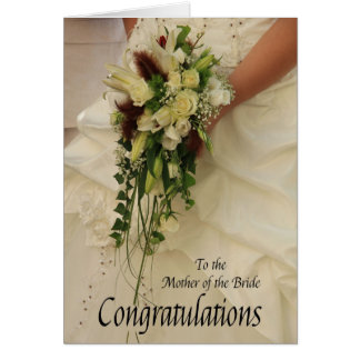 mother of the bride congratulations card