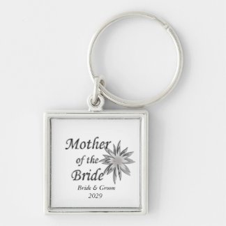 Mother of the Bride custom Keychain