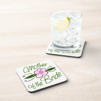 Mother of the Bride Drink Coaster