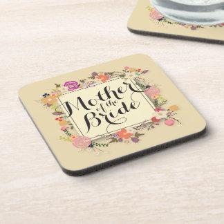 Mother of the Bride Elegant Wedding   Coaster