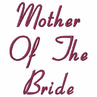 Mother of the Bride Embroidered Polo