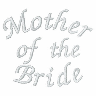 Mother of the Bride Embroidered Polo Shirt