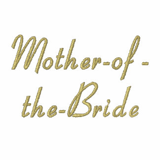 Mother-of-the-Bride - Embroidered Polo Shirt