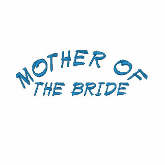 MOTHER OF, THE BRIDE EMBROIDERED HOODED SWEATSHIRT