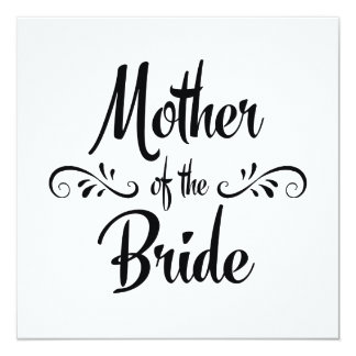 Mother of the Bride - Funny Rehearsal Dinner Card
