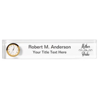 Mother of the Bride - Funny Rehearsal Dinner Name Plates
