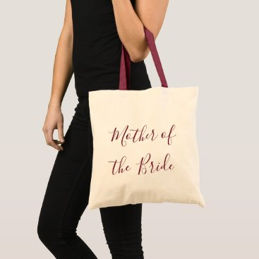 Bride Themed Mother of the Bride gift Tote Bag