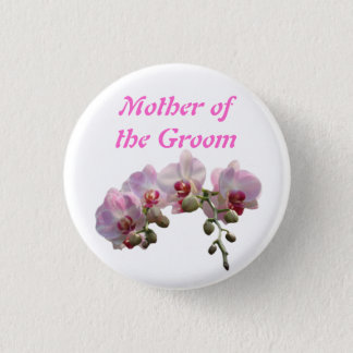mother of the bride/groom button
