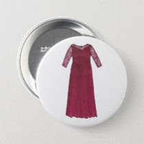 Mother of the Bride Groom Wedding Party Gown Dress Button