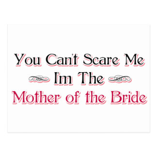 Mother of the Bride Humor Postcard