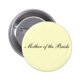 Mother of the Bride Ivory Button