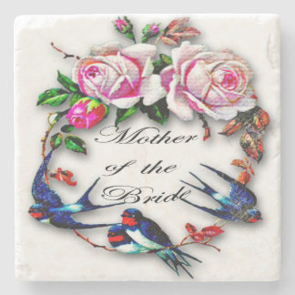 Mother Of The Bride Marble Coaster