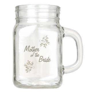 Mother of the Bride Mason Jar