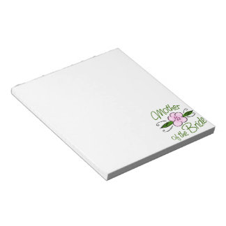 Mother of the Bride Memo Note Pad