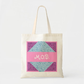 Mother of the Bride MOB Custom Modern Wedding Budget Tote Bag