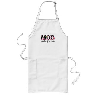 Mother of the Bride (MOD) Tulip Lettering Long Apron