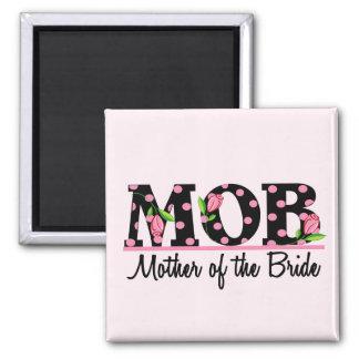 Mother of the Bride (MOD) Tulip Lettering Fridge Magnets