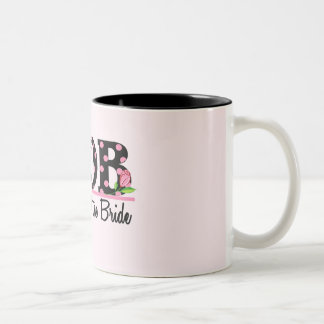 Mother of the Bride (MOD) Tulip Lettering Coffee Mugs