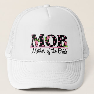 Mother of the Bride (MOD) Tulip Lettering Trucker Hat
