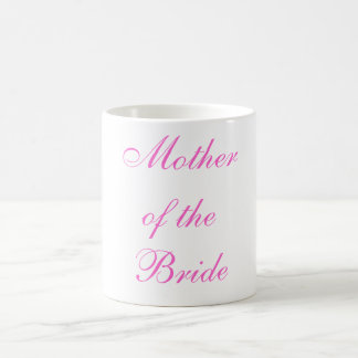 Mother of the Bride Classic White Coffee Mug