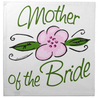 Mother of the Bride Napkin