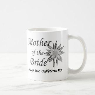 Mother of The Bride Needs Her Caffeine Fix Coffee Mug