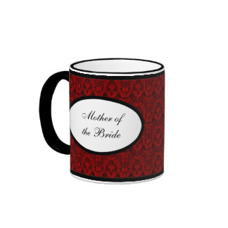 Mother of the Bride Personalized Mugs