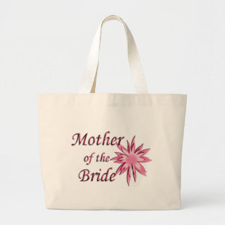 Mother of The Bride Pink Large Tote Bag