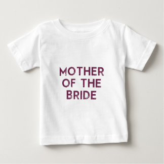 Mother of the Bride Plum Baby T-Shirt