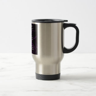 Mother of the Bride Poem - Purple Silk Travel Mug