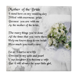 Mother Of The Bride Poem To Her Daughter | Midway Media