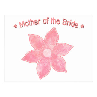 Mother of the Bride Post Card