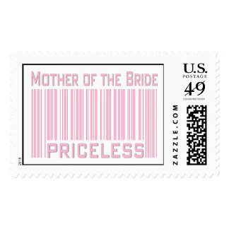 Mother of the Bride Priceless Postage Stamp