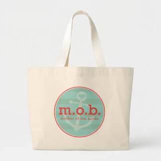 Mother of the Bride Sailor Large Tote Bag