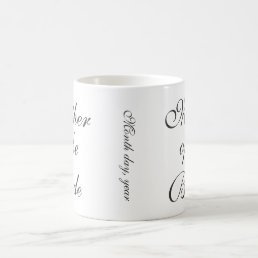 Mother of the Bride Save The Date Custom Mug