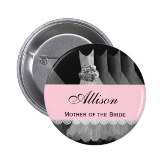 MOTHER OF THE BRIDE Silver Gowns V1B Buttons