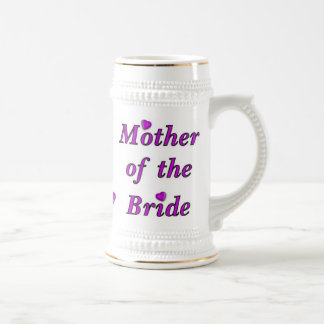 Mother of the Bride Simply Love Beer Stein